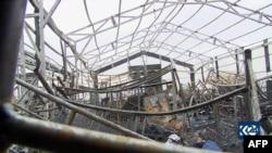 Поражения от ракетната атака срещу летището в Ербил по-рано този месец