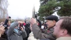 «Да 100-годзьдзя савецкай улады» у Полацку ўскрылі пасланьне нашчадкам