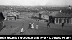 Вид на Красноярск из Николаевской слободы
