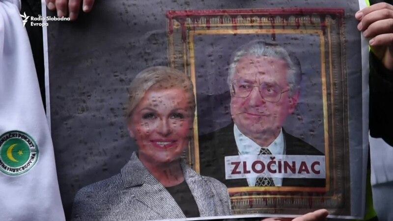 Protest u Sarajevu: 'Ne tuđmanizaciji u BiH'