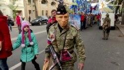 «Марш героїв» пройшов Києвом (відео)