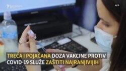 Zašto su važne treća i pojačana doza Pfizer-BioNTech i Moderna vakcine?