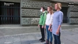 Umetnici protiv Huawei video nadzora u Srbiji