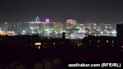 Aşgabat: Bir tarapy ýagtylyk, beýleki tarapy tümlük