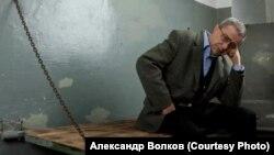 Александр Макаров в Музее политических репрессий. Томск. 2010 г.
