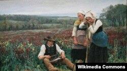 Тэафіль Дэйроль, «Адпачынак на сенажаці»