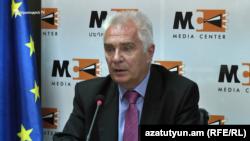 Глава делегации ЕС в Армении, посол Петр Свитальский, Ереван, 22 июля 2019 г.