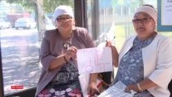 «Незаконно арестовали»: в Нур-Султане женщины провели акцию протеста в поддержку родственников