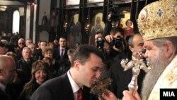 Премиерот Никола Груевски и г.г Стефан