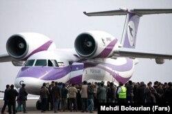 آنتونوف یک خط هوایی ایران در بهمن ۱۳۹۴ در ماکو