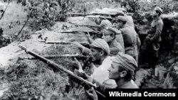 Польскія легіянэры на фронце I Сусьветнай вайны