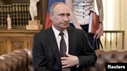Vladimir Putin u Ateni, 27. svibnja 2016.