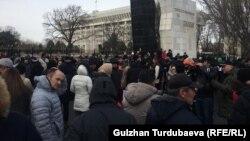 Акция «REакция 2.0». Бишкек. 18 декабря 2019 года.
