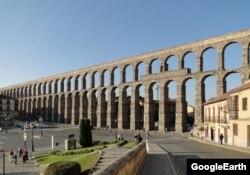 Акведук в Сеговии, Испания