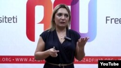 Azerbaijan -- head of Woman Crisis Center Matanat Azizova, 2011