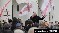 Оппозиционный политик Николай Статкевич. Минск, 6 октября 2019 года.