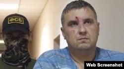 """Один из задержанных в августе """"крымских диверсантов"""" Евгений Панов"""
