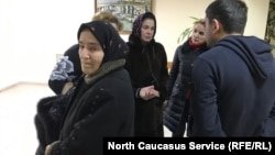 Родственники осужденных в суде, 13 января 2020 г.