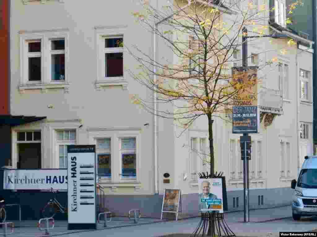 Casa în care s-a născut pictorul expresionist Ernst Ludwig Kirchner la Aschaffenburg.