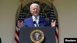 Presidenti i Shteteve të Bashkuara, Joe Biden.