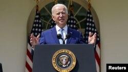 U.S. President Joe Biden speaks at the White House (file photo)