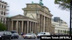 Берлин. У Бранденбургских ворот