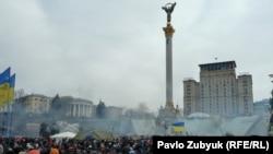 Дим над Євромайданом, 19 лютого 2014 року