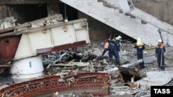 Спасательные работы на Саяно-Шушенской ГЭС