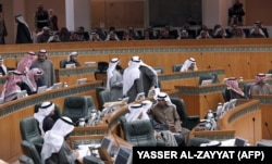 یکی از نشستهای پارلمان کویت