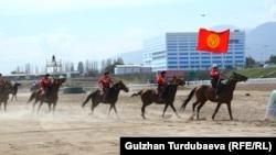 Сборная Кыргызстана по кок-бору.