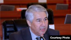 Депутат парламента Кыргызстана Мыктыбек Абдылдаев.