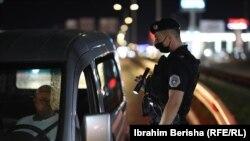 Policia e Kosovës gjatë patrullimeve në Prishtinë. Fotografi nga arkivi.