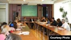 Imagine de la prezentarea ultimului Raport realizat de Expert-Grup