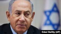 Israeli Prime Minister Benjamin Netanyahu has praised the U.S. move to reimpose sanctions on Iran.