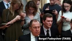 Serghei Lavrov la 10 ianuarie 2018