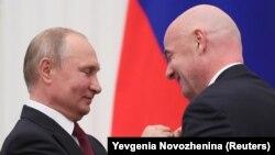 Putin odlikovao Infantina, Moskva