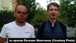 Пострадавшие агитаторы Захар Сарапулов и Павел Чернухин