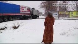 Rusiyadan Ukraynanaya yeni maşın karvanı göndərilir