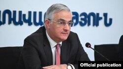 Armenia - Deputy Prime Minister Mher Grigorian.