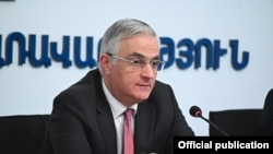 Armenia - Deputy Prime Minister or Armenia Mher Grigorian.