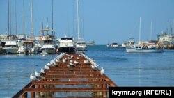 Яхти в Стрілецькій бухті Севастополя, серпень 2019 року