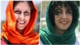 Nazanin Zaghari-Ratcliffe is a British-Iranian dual citizen who has been detained in Iran since 3 April 2016 (left). Narges Mohammadi is a distinguished Iranian human rights defender and a campaigner against the death penalty..