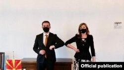Бујар Османи и Екатерина Захариева