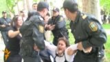 Azerbaijani Activists Protest Rights Abuses