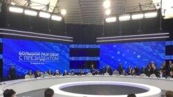 Размова з Лукашэнкам: дыялёг з грамадзкасьцю ці піяр?