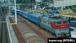 Иллюстрационное фото: Крым, Симферопольский железнодорожный вокзал