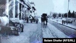 صورة فوتوغرافية لشارع دجلة في العمارة عام 1957