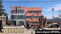 Zgrada Opštine Gračanica koja je u sistemu Kosova