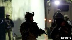 Место взрыва в Кабуле, 4 января 2016 года.