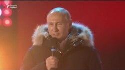 Россия: Путин президент сайловида тўртинчи бор ғалаба қозонмоқда
